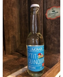Limonade P'tit Quinquin nature 33cl