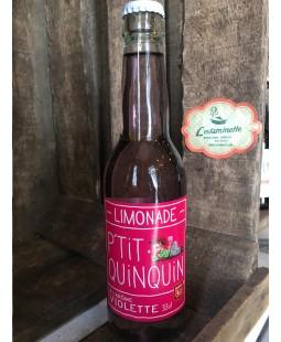 Limonade P'tit Quinquin Violette 33cl
