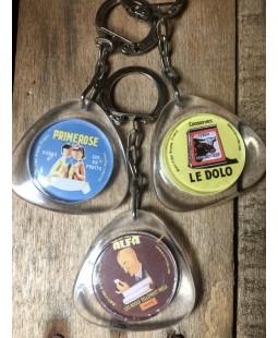 Porte clés réclames