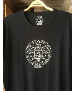 T Shirt La Fière (Noir et Blanc) by Le Gallodrome