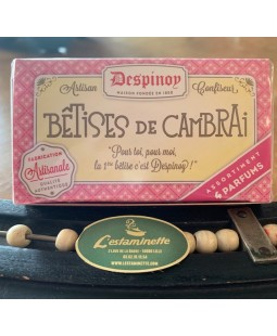Bétises Cambrai Fruits boîte carton 70g