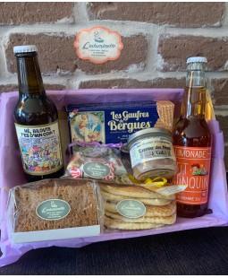 Panier cadeau Escapade Flamande