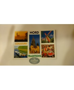 Carte postale Nord Couleurs Traditions