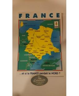 Carte postale Et si la France perdait le Nord