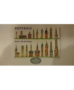 Carte postale Beffrois