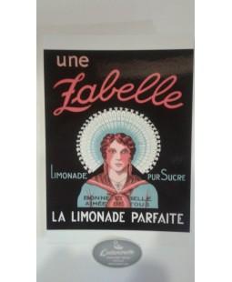 Carte postale Zabelle