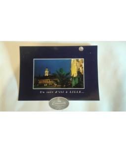 Carte postale Un soir d'été à Lille