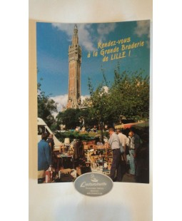Carte postale Grande Braderie de Lille