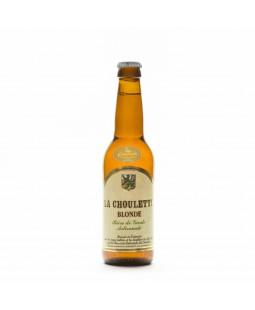 Bière Choulette blonde 33cl