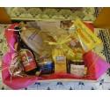 Panier cadeau Gourmandises Hivernales