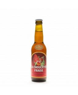 Bière Choulette fraise 33cl