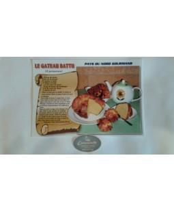 Carte postale Le Gâteau battu