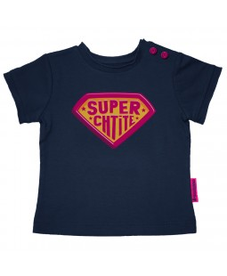 "T-shirt fille ""Super Ch'tite"" Gallodrome"