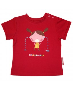 """T-shirt fille """"Brayousse"""" Le Gallodrome"""