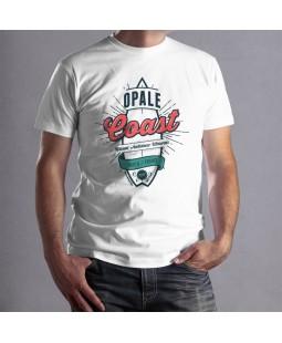 """T-shirt homme """"Opal Coast"""" Le Gallodrome"""