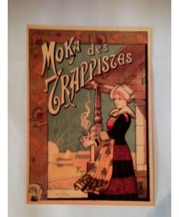"""Carte Postale """"Café Moka des Trapistes"""""""