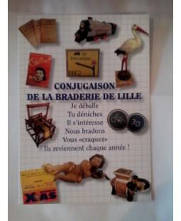 Carte Postale Conjugaisons de la Braderie de Lille