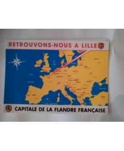 Carte postale Retrouvons nous à Lille