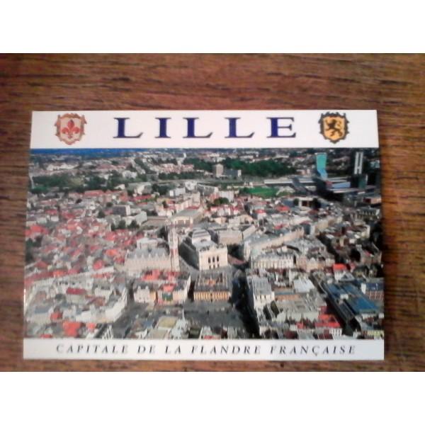 Carte postale lille capitale de la flandre fran aise for Lille capitale des flandres