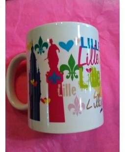 Mug coloré de Lille