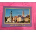 Carte Postale Lille Grand Place (contour violet)