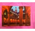 Carte postale du centre de la Vieille Bourse (avec les pilliers)