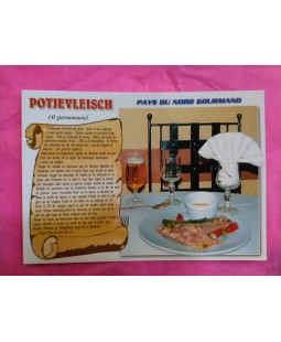 Carte postale recette du Potjevleisch
