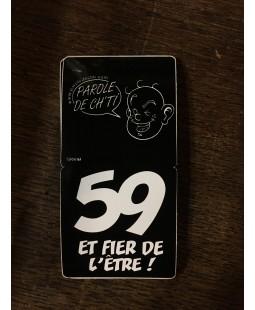 Sticker Ch'ti 59